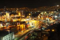 Nuit depuis le Cerro Artilleria