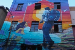 Devinez quoi...Street art Valparaiso