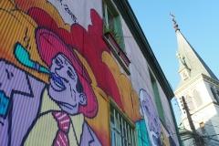 Church art Valparaiso