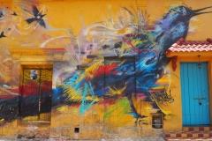 Street art Carthagène