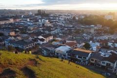 Vue sur le centre historique de Popayan
