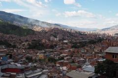 Vue sur Medellin depuis la Comuna 13