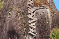 Les 750 marches du rocher del Peñol