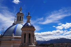 La coupole de la cathédrale de Cuenca