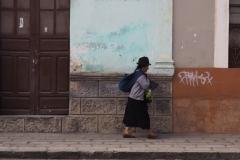 Dans les rues de Riobamba