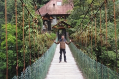 Pont à la cascade El Pailón del diablo