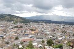 Otavalo vue d'en haut