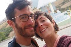 Selfie zen après les thermes