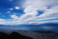 Quito vu d'en haut