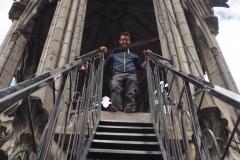 Montée à la tour