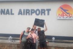 Arrivée à Windhoek