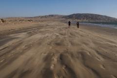 Sur la plage de Luderitz