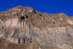 Les falaises du canyon