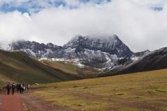 Montée à la montagne colorée
