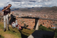 Selfie Cusco