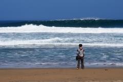 Une Charlotte et des vagues