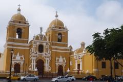 La cathédrale de Trujillo